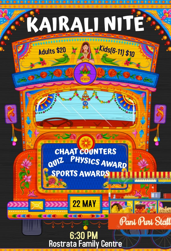 22 May - Chai, Chaat and Chutney Nite!